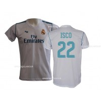 Maglia Real Madrid Isco 22 ufficiale replica 2017-18 autorizzata