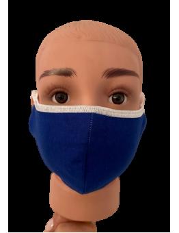 Mascherina Chirurgica personalizzata bimbo blu royal